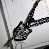 William Collaboration Necklace シルバー ブレスレット WWP-16882 with chain